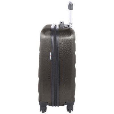 "swissgear silver star 20"" hard side carry-on luggage - charcoal-3"