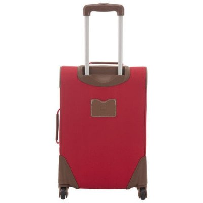 "tommy hilfiger scout 4.0 21"" soft side expandable carry-on luggage - red-3"