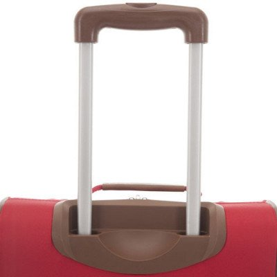 "tommy hilfiger scout 4.0 21"" soft side expandable carry-on luggage - red-4"