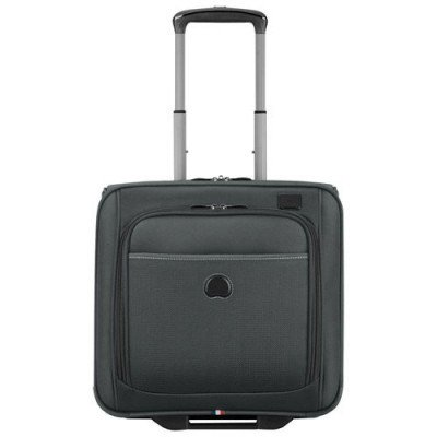 "delsey pilot 4.0 15"" soft side carry-on luggage - grey-1"