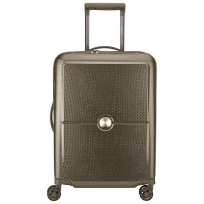 """delsey turenne 20"""" hard side carry-on luggage - champagne-1"""