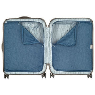 """delsey turenne 20"""" hard side carry-on luggage - champagne-2"""
