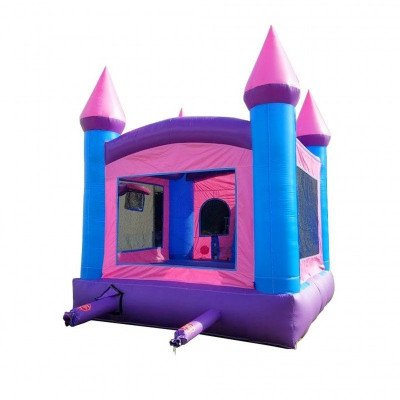 Pink Princess Wet-Dry Inflatable Combo With Pool picture 4