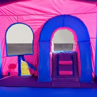 Pink Princess Wet-Dry Inflatable Combo With Pool picture 5