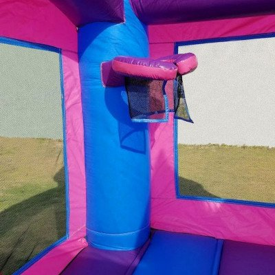 Pink Princess Wet-Dry Inflatable Combo With Pool picture 7