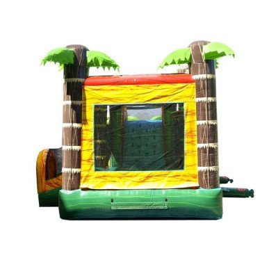 Mega Tropical Fire Marble Wet-Dry Inflatable Combo picture 6