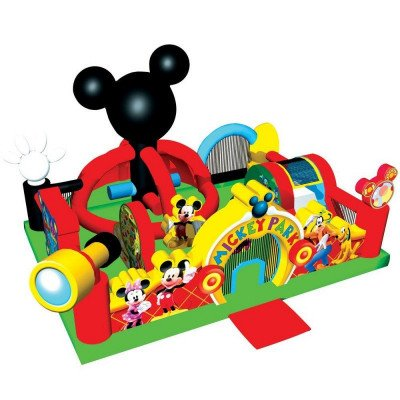 Mickey Park Playland Toddler Inflatable Combo picture 1