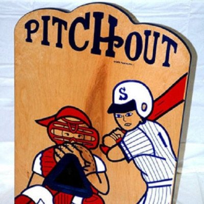 Pitchout Baseball Tabletop Carnival Game picture 1