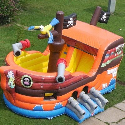 Pirate Ship Inflatable Combo picture 7