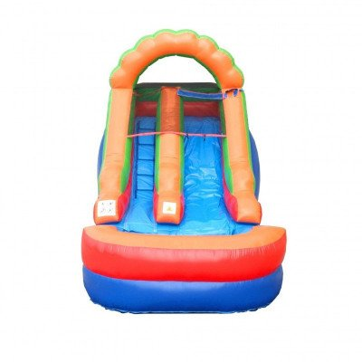 12' Rainbow Inflatable Wet-Dry Slide picture 3