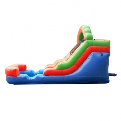 12' Rainbow Inflatable Wet-Dry Slide picture 4