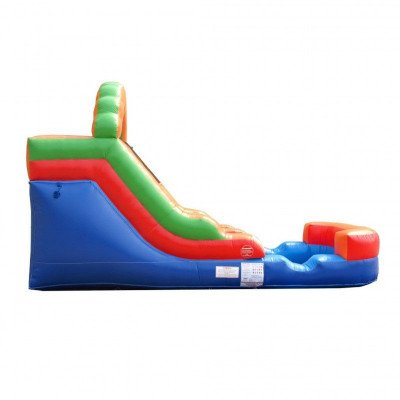 12' Rainbow Inflatable Wet-Dry Slide picture 5