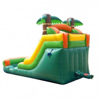 12' Tropical Inflatable Wet-Dry Slide picture 4