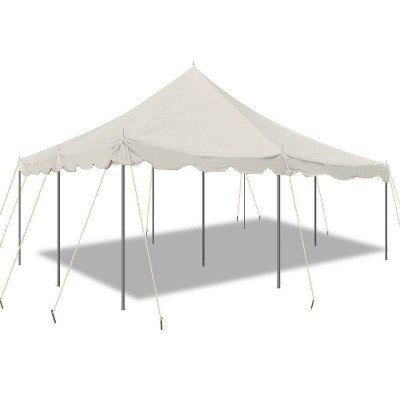 20 X 20 White Canopy Pole Tent picture 1