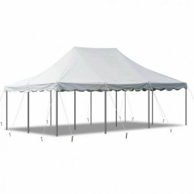 30 X 30 White Canopy Pole Tent picture 1