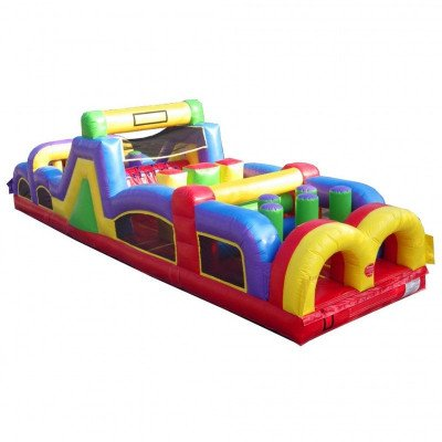 40' Inflatable Obstacle Course picture 1