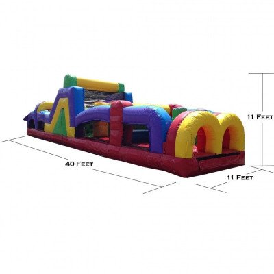 40' Inflatable Obstacle Course picture 2