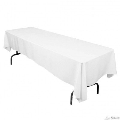 "54"" X 120"" White Table Linen picture 1"