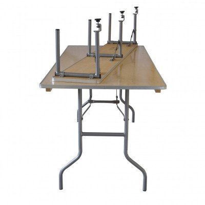 """6' X 12"""" Banquet Table Bar -Top Riser - Banquet Table Not Included picture 3"""