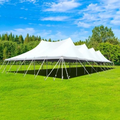 60 X 60 Sectional Canopy Pole Tent picture 1