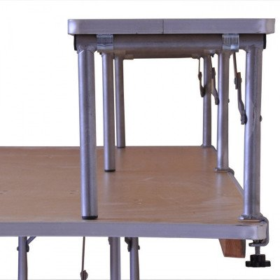 """8' X 12"""" Banquet Table Bar-Top Riser - Banquet Table Not Included picture 1"""