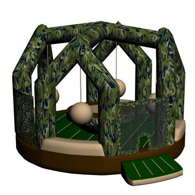 Camouflage Wrecking Ball Inflatable picture 1