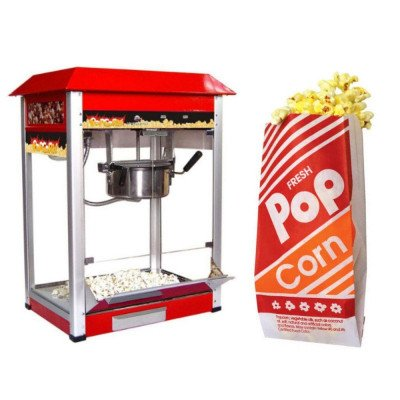 Popcorn Machine with 10z Popcorn Bag - Pack Of 100 picture 1