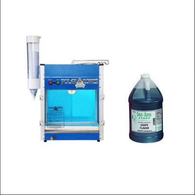 Sno-Kone® Machine with Gallon Grape Sno-Kone Syrup picture 1