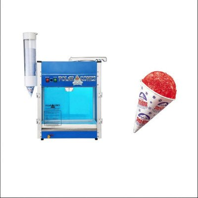 Sno-Kone® Machine with Sno-Kone Cups - Pack Of 5000 Case picture 1
