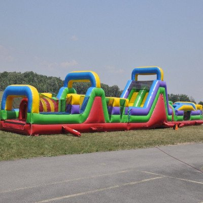 Mega Course - 3 Piece Inflatable Obstacle Course picture 1