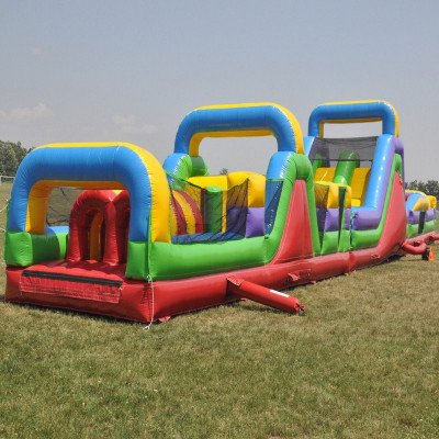Mega Course - 3 Piece Inflatable Obstacle Course picture 2