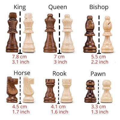 wooden chess set picture 2