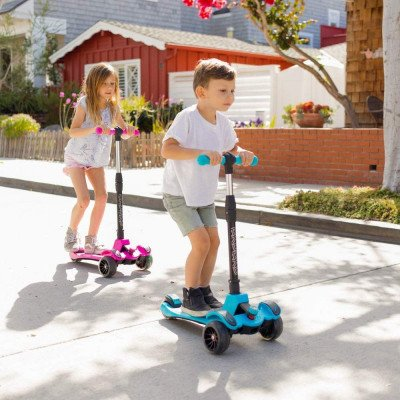 kick scooter for kids and toddlers picture 1