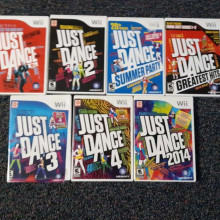 Just Dance games for wii