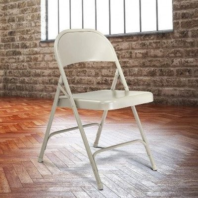 all steel standard folding chair picture 1
