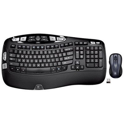 Wireless Wave Keyboard and Mouse Combo picture 1