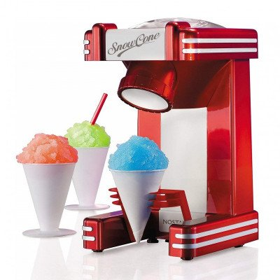 retro single snow cone maker picture 3