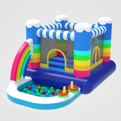 outdoor indoor inflatable bounce house picture 1