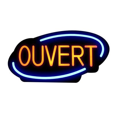 led Open Sign - French picture 1