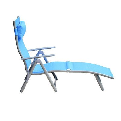 heavy-duty adjustable folding reclining chair seat picture 2