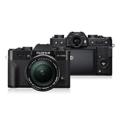 fujifilm x-t20 camera with lens picture 1