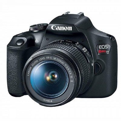 canon eos rebel t7 18-55mm is ii digital camera picture 1