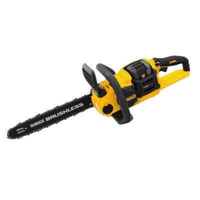 brushless chainsaw picture 1