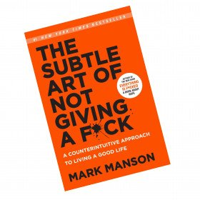 the stuble art of not giving a f*uck by mark manson