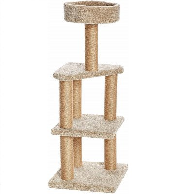 cat activity tree with scratching posts-1