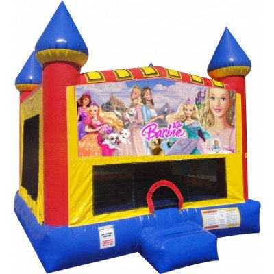 Barbie Inflatable Castle Bouncer picture 1
