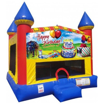 Happy Birthday Inflatable Castle Bouncer picture 1