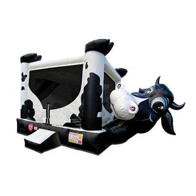 Big Moo Inflatable Combo with Slide picture 1