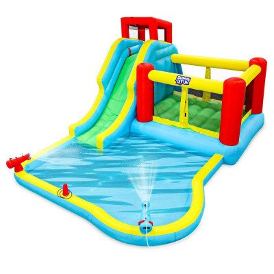 deluxe inflatable water slide park picture 1