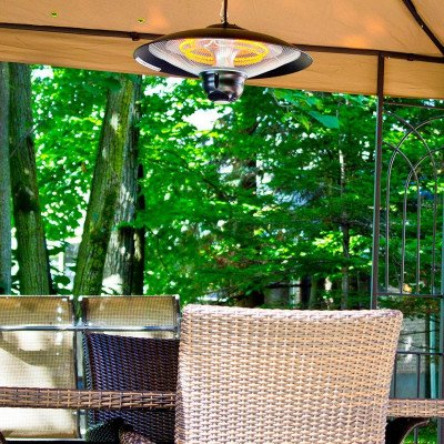 outdoor ceiling electric patio heater picture 1